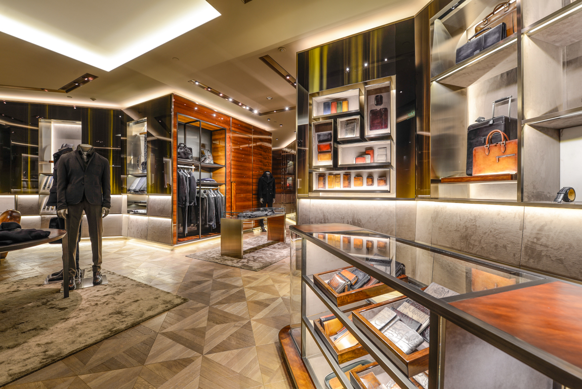 Berluti Boutique Shenyang Interior Photography Shanghai