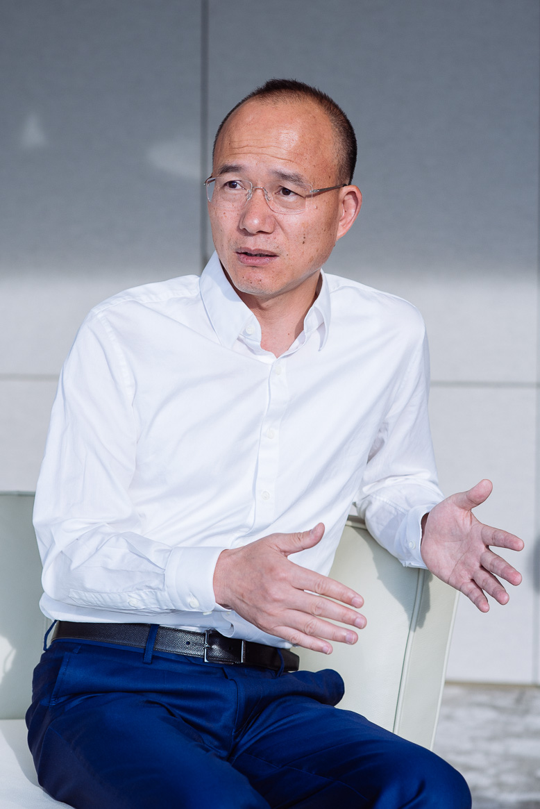 Editorial Photographer Shanghai shot for SCMP interview of Guo Guangchang