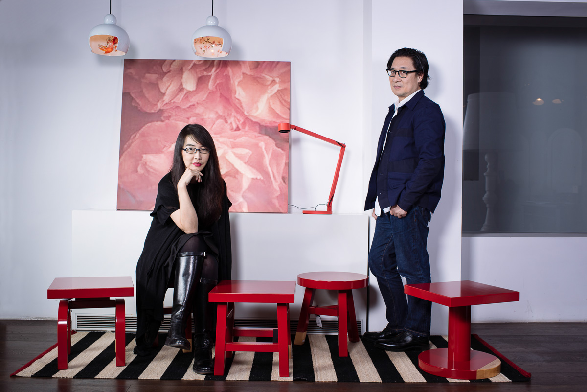 Portrait of Neri and Hu Designers for Forbes Magazine Thierry Coulon Photographer