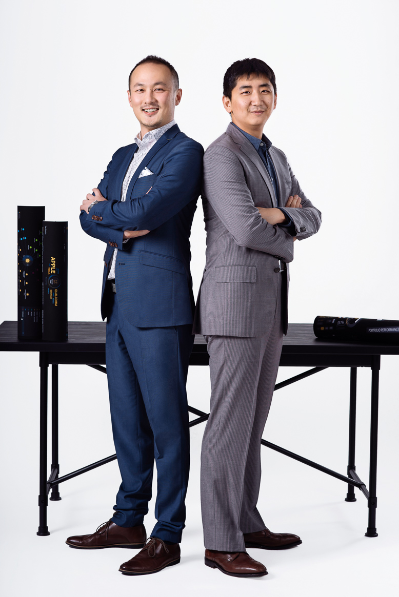 Miotech Founders Jianyu Tu and Tao Liu for Forbes Magazine Shanghai photographer Thierry Coulon